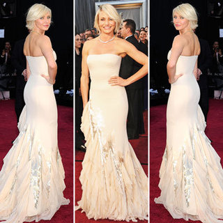 Cameron Diaz Dazzles in Figure-Hugging Gucci Premiere Gown at the 2012 Oscars: Like It?