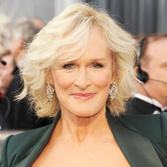 Glenn Close at Oscars 2012