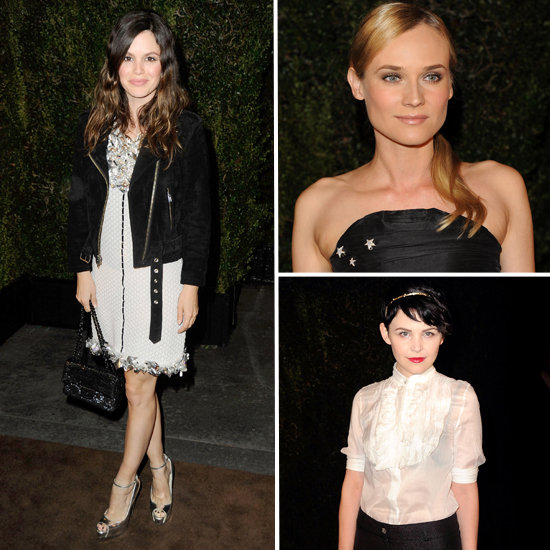 Stars Fete Fashion and Film at the Chanel and Charles Finch Pre-Oscar Party