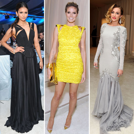Heidi Klum, Nina Dobrev, and More Hit Up Elton John's Oscar Party — See Our Style Breakdown!