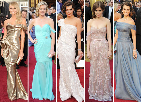 Oscars Trendspotting: Cool Shoulders