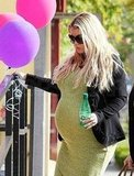 Jessica Simpson Shows Her Baby Bump While Shopping For Her Little One