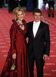 Antonio Banderas and his wife Melanie Griffith looked stunning together at the Goya Awards in Madrid.