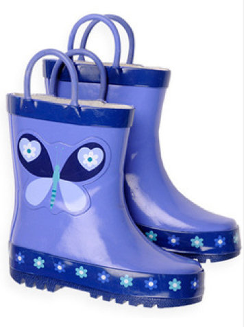 Pumpkin Patch Butterfly Rainboots ($25)
