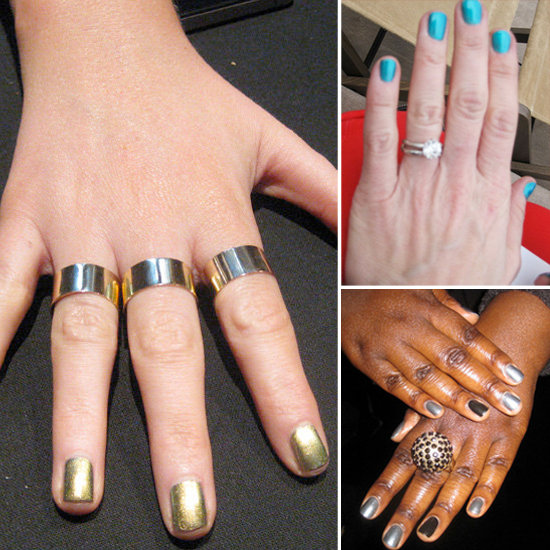 8 Metallic Nail Shades from The Streets of LFW