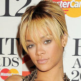 Rihanna at the 2012 BRIT Awards