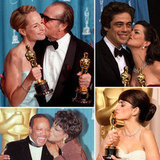 Kissy Face: Love in the Oscar Press Room Throughout the Years
