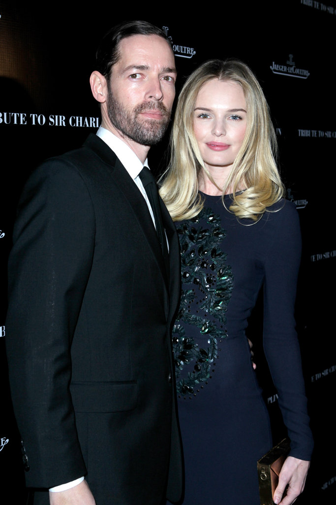 Kate Bosworth smiled alongside Michael Polish.