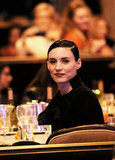 Rooney Mara sat in the audience at the Costume Designers Guild Awards.