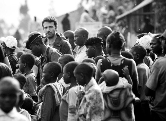 Ben Affleck Joins Facebook and Shares Photos From His Trips to Africa