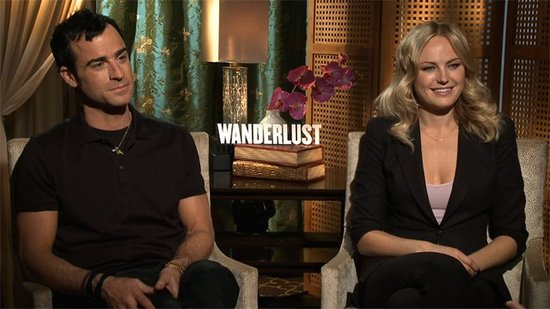 Justin Theroux and Malin Akerman on Getting Extremely Sexy and Completely Ridiculous For Wanderlust