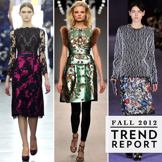 The Top Trends From 2012 A/W London Fashion Week