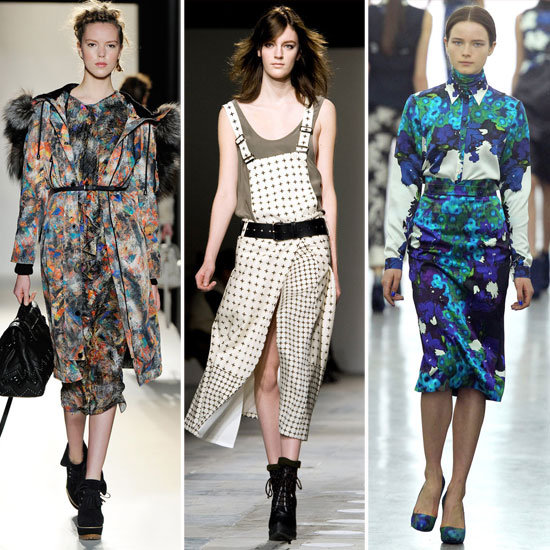 Bold Digital Prints London Fashion Week Trends!