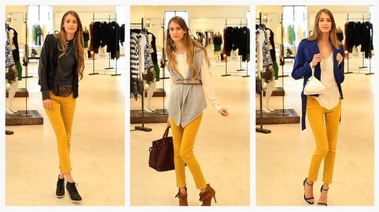 One Pair of Yellow Jeans 3 Ways