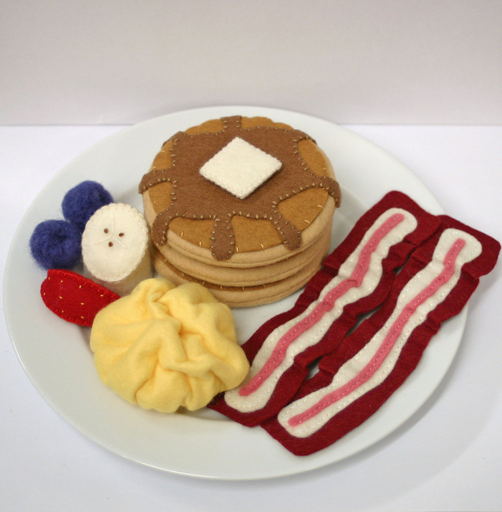 Wool and Felt Breakfast Set