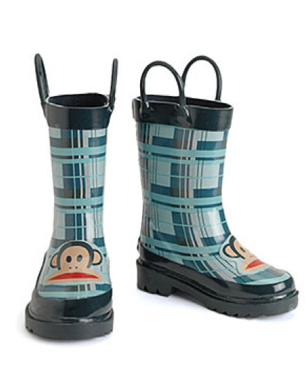 Paul Frank Plaid Rain Boots ($36)