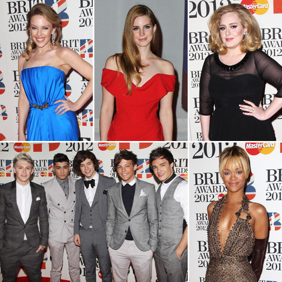 Adele, Kylie, Rihanna, Lana, One Direction and More Celebrate Music at the Brit Awards
