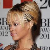 Rihanna's 2012 Brit Awards Hair and Makeup Look
