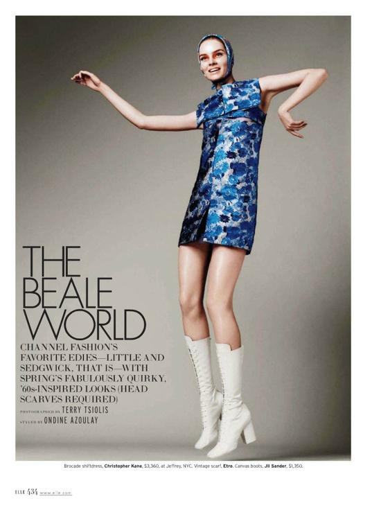 Elle US March 2012 Editorial - Gwen Loos