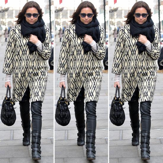 White Black Coat - Coat Nj