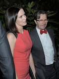 Emily Blunt and Gary Oldman caught up in LA.