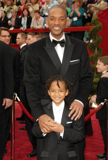 Will Smith and Jaden Smith, 2007