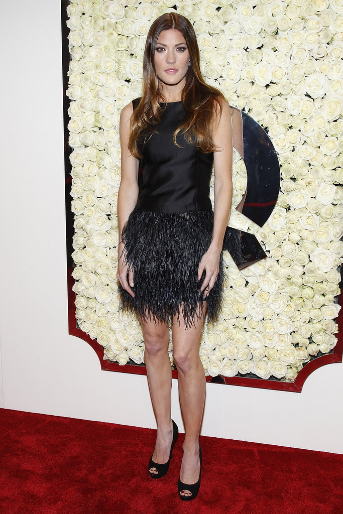 Jennifer Carpenter wore a LBC to QVC's party.
