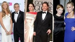 Video: 2012's Cutest Awards Season Duos — Brad and Angelina, Michelle and Busy, and More!