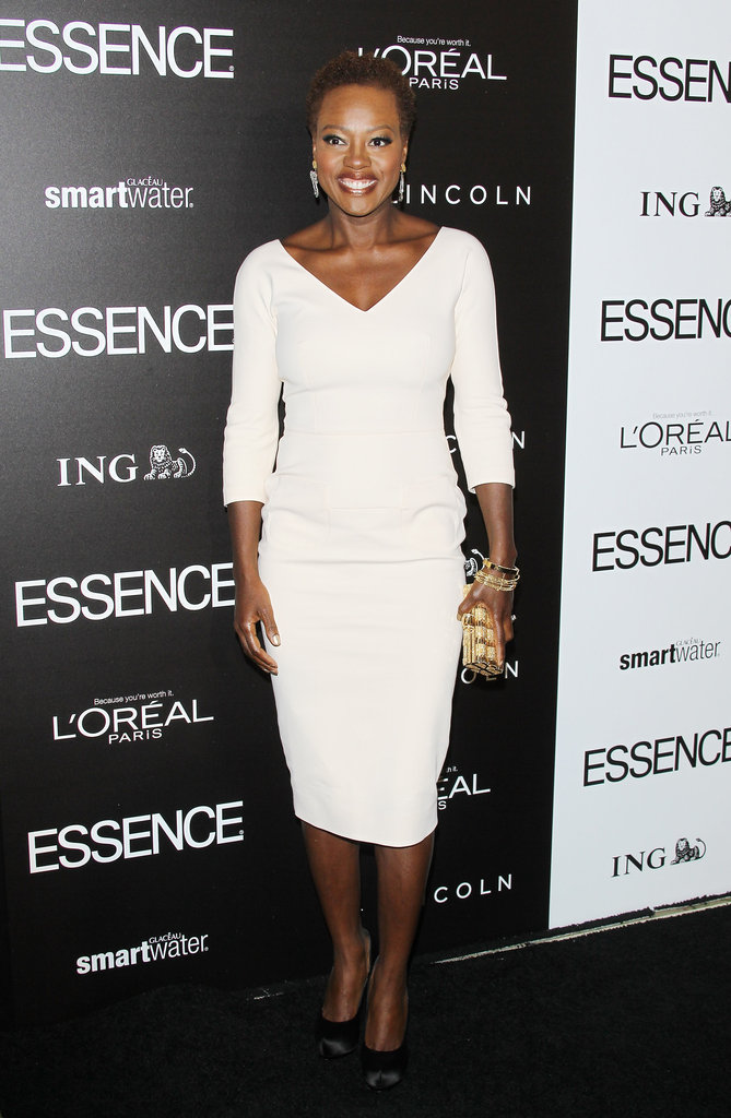 Viola Davis at the Essence luncheon.