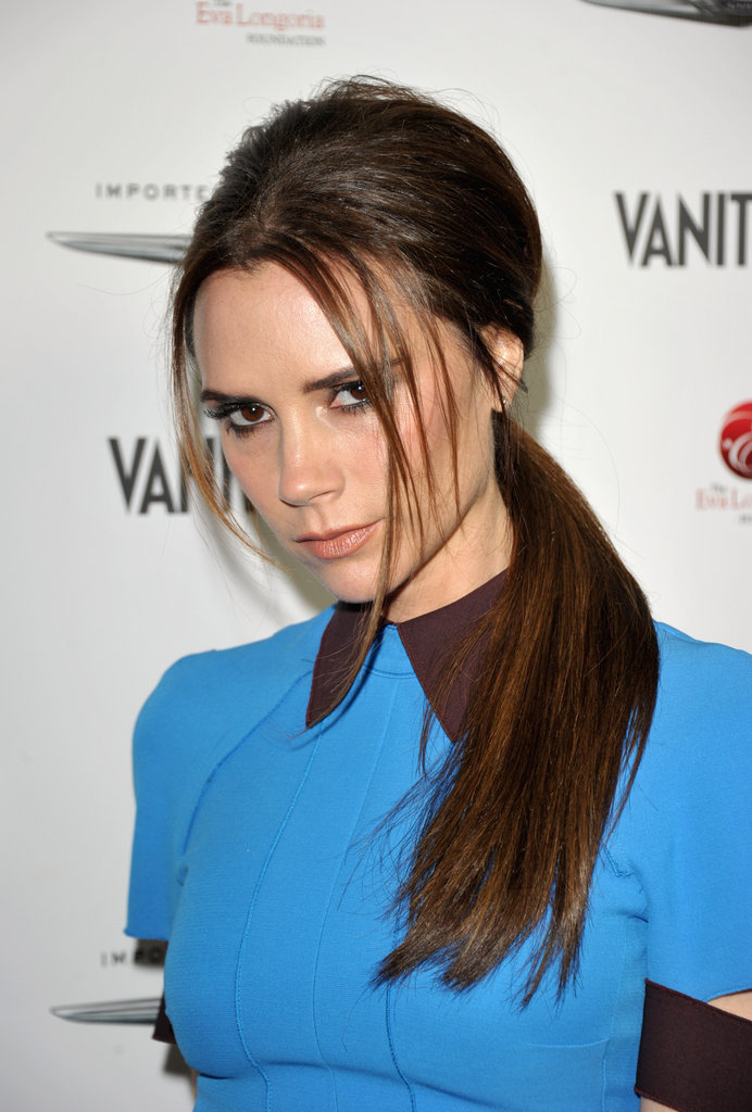 Victoria Beckham attended an event at Beso.