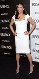 Paula Patton in Marchesa at the Essence luncheon.