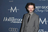 Michael Sheen attended The Hollywood Reporter's pre-Oscars bash.