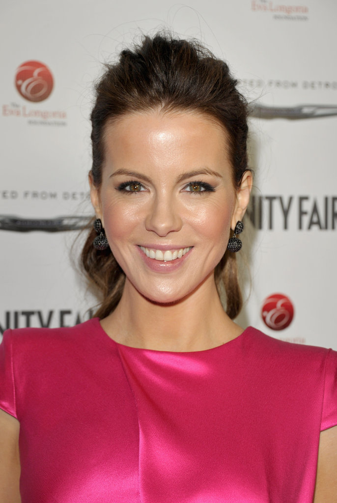 Kate Beckinsale attended an event at Beso.