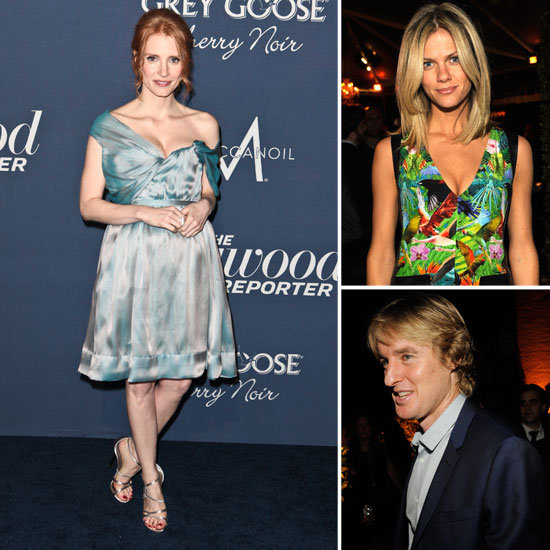 The Hollywood Reporter Rounds Up Jessica Chastian and Owen Wilson For a Pre-Oscars Bash