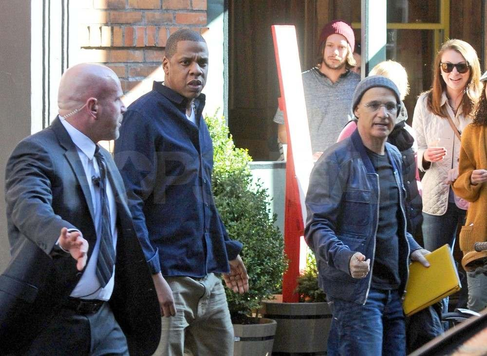 Jay-Z Makes a Surprise Appearance in SoHo With His New Singer