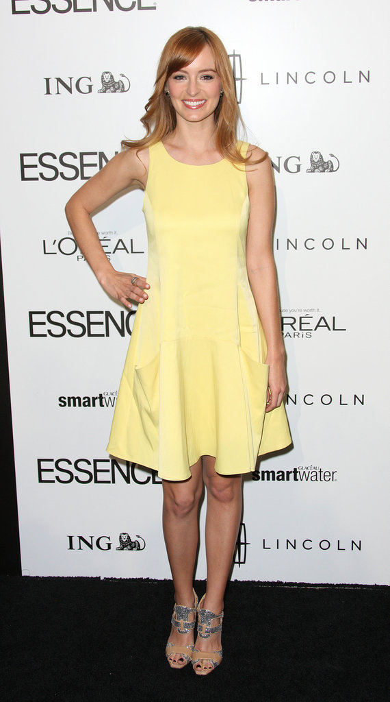 Ahna O'Reilly at the Essence luncheon.