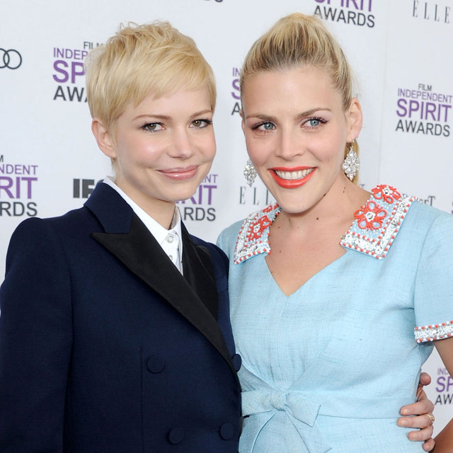 Michelle Williams and Busy Philipps Pictures at 2012 Independent Spirit Awards