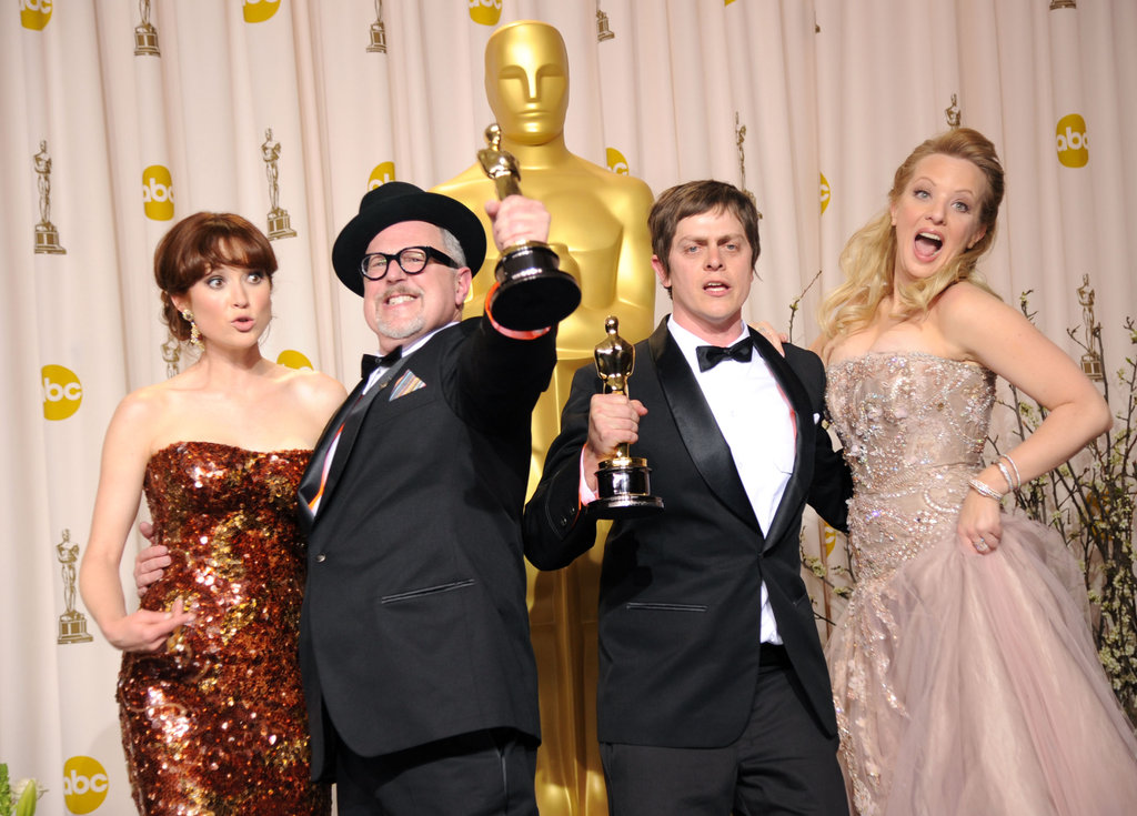 Ellie Kemper, William Joyce, Brandon Oldenburg, and Wendi McLendon-Covey
