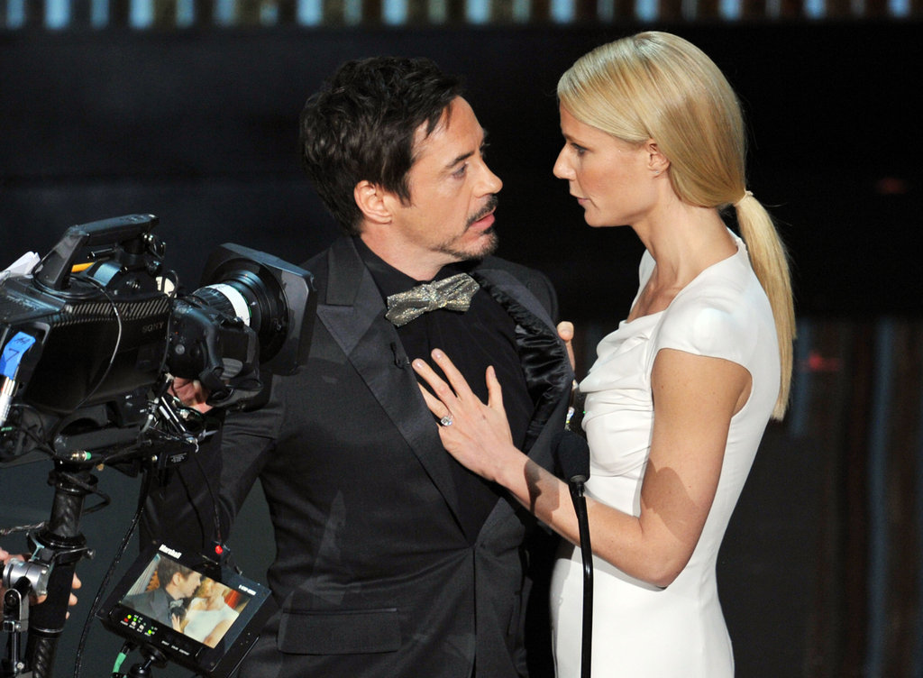 Robert Downey Jr. and Gwyneth Paltrow