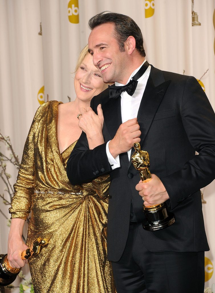 Meryl Streep and Jean Dujardin