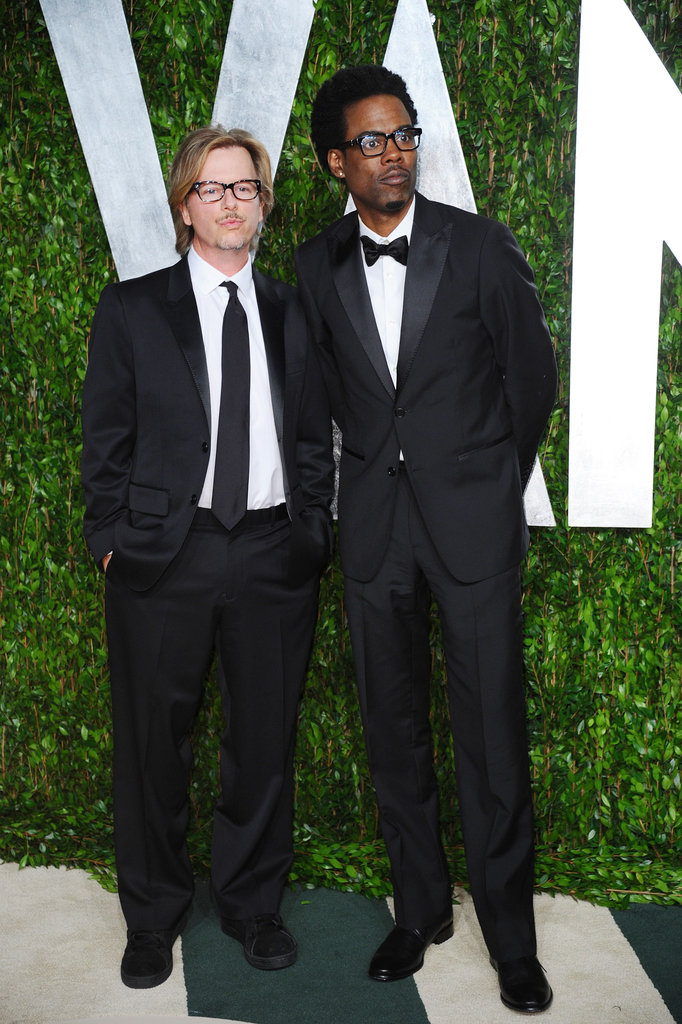 David Spade and Chris Rock