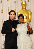 Christian Bale and Octavia Spencer