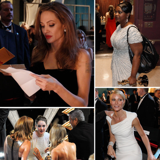 Behind the Scenes and Backstage at the Oscars
