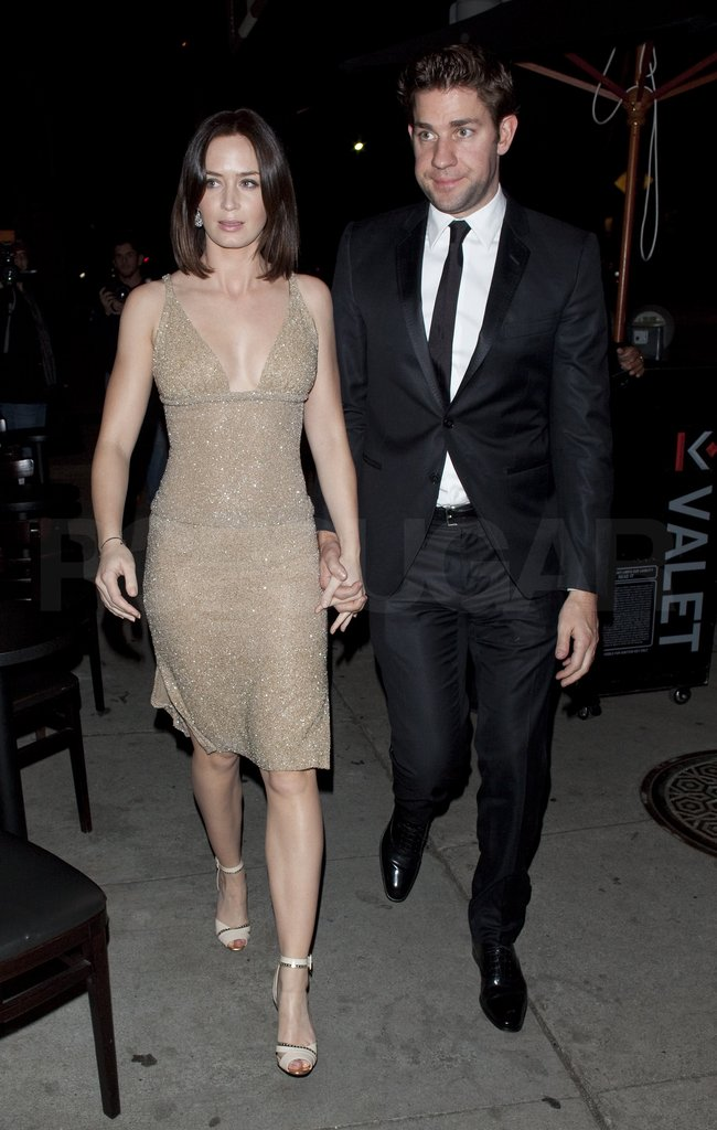 John Krasinski and Emily Blunt went out after the Oscars.
