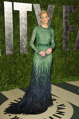 Elizabeth Banks in Chadwick Bell at the Vanity Fair Oscar party.