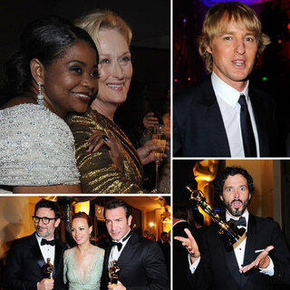 2012 Oscars Governors Ball After Party Celebrity Pictures