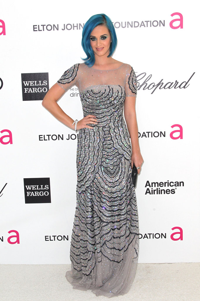Red Carpet Dress Pictures at Elton John's Oscar Party 2012