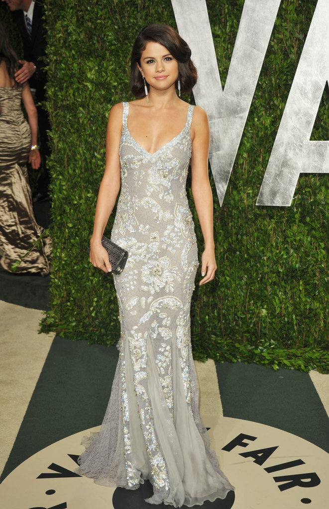 Selena Gomez looking gorgeous in Dolce and Gabbana.