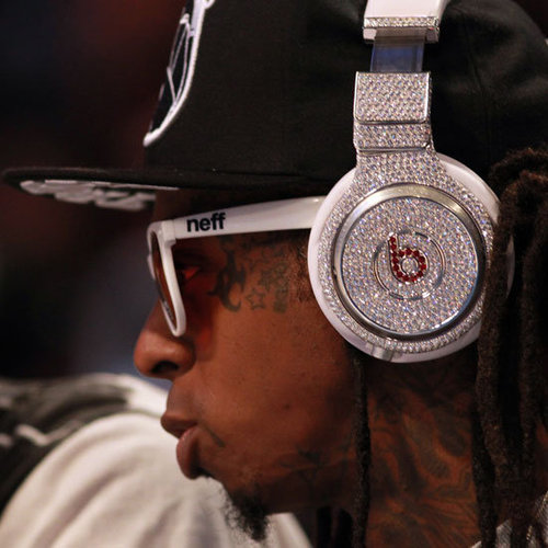 Lil Wayne Diamond Beats by Dre Headphones