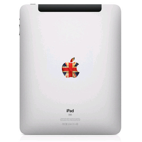 Old British Flag iPad Decal Sticker ($5)
